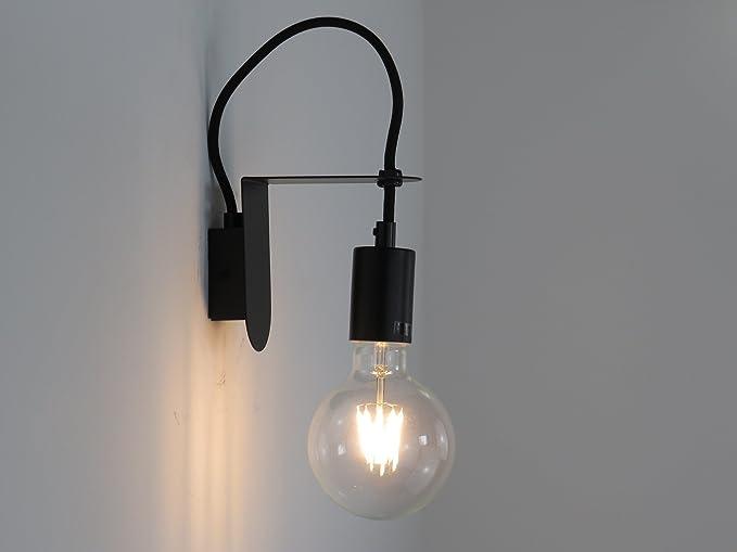 Applique in gesso lampada parete moderno attacco e conchiglia