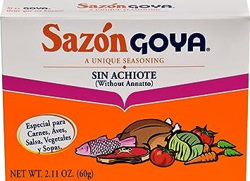 Goya Foods Sazon Family, 2.11 oz