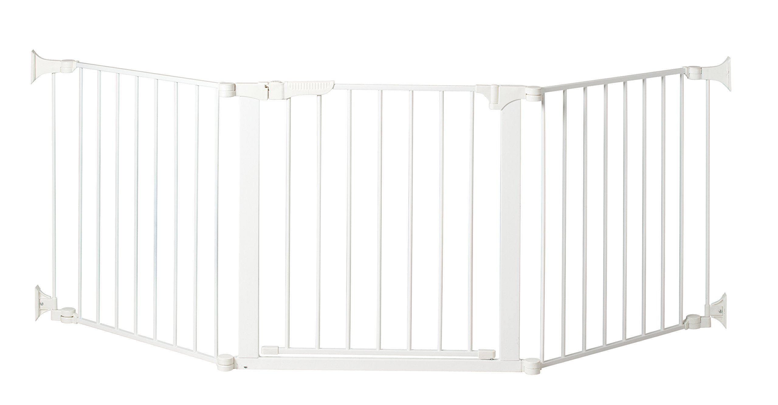 KidCo Auto Close Configure Gate with Door, White, 24''