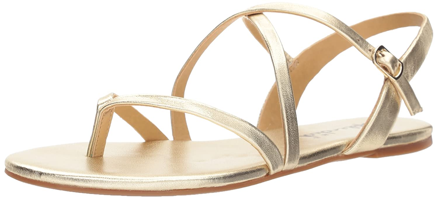 Splendid Women's Brett Sandal B071GP4VL4 7.5 B(M) US|Gold