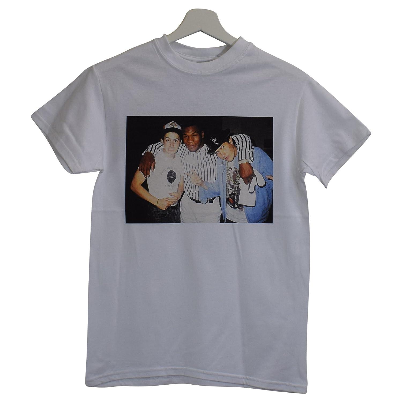 e81020d5 Actual Fact Tyson Beastie Boys Vintage Boxing White Hip Hop Tee T-Shirt  (Small-XXL): Amazon.co.uk: Clothing
