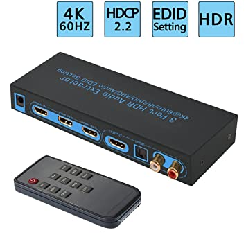 vente énorme Vente livraison gratuite Microware HDMI 1.4 3x1 Switch for RCA TOSLINK Optical ...
