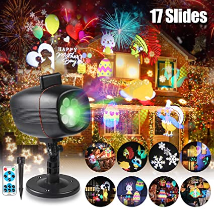 Projector Use Christmas Easter Easter Lights Outdoor Patterns Landscape Festival 17 SpotlightWaterproof LightsInfinitoo Rotating zpqUGVSM