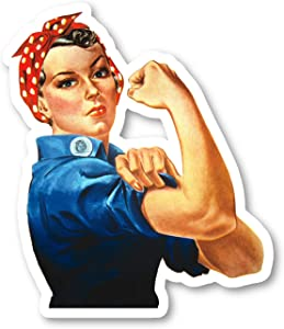 Rosie The Riveter Sticker USA Stickers - Laptop Stickers - 2.5 Inches Vinyl Decal - Laptop, Phone, Tablet Vinyl Decal Sticker S214464