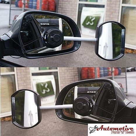 Juego de 2espejos retrovisores de Streetwize para caravana, espejo convexo y espejo plano