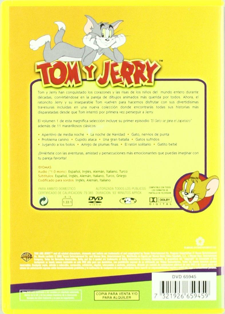 Amazon.com: Coleccion Tom Y Jerry V.1 (Import Movie) (European Format - Zone 2) (2009) Varios: Movies & TV