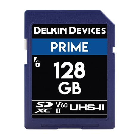 Dispositivos Delkin 128 GB Prime SDXC 1900 x UHS-II U3 ...