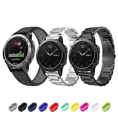 Sycreek Garmin Fenix 5/5 Plus/Forerunner 935/Instinct Smartwatch ...
