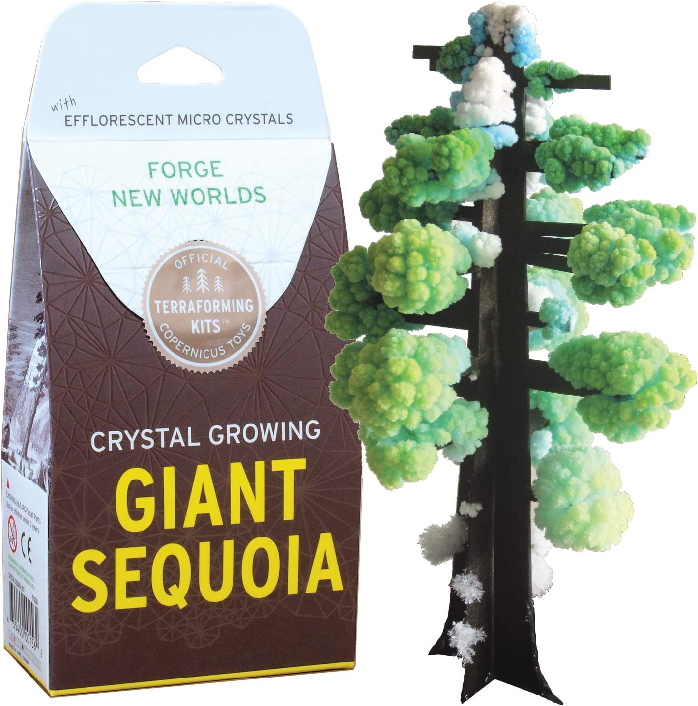 Crystal Growing Giant Sequoia | Copernicus Toys Official Terraformer kit | Grows in Hours | Facts and Instructions