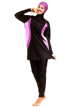 244ba9d86 Veilkini Black Burqini For Women: Amazon.ae: SamawaGlobal