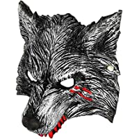 VictoryingDay Halloween Werewolf Mask Wolf Masquerade Mask Scary Wolf Costume for Kids Adult Women Man
