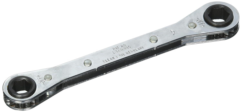7//16 inch x 1//2 inch Wilde Tool 875B Ratchet Box Wrench