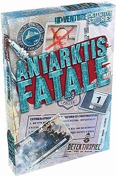 Idventure Detective Stories Case 2 Antarctic Fatale Crime Scene Detective Game Crime Game Escape Room Game For Home Amazon De Spielzeug
