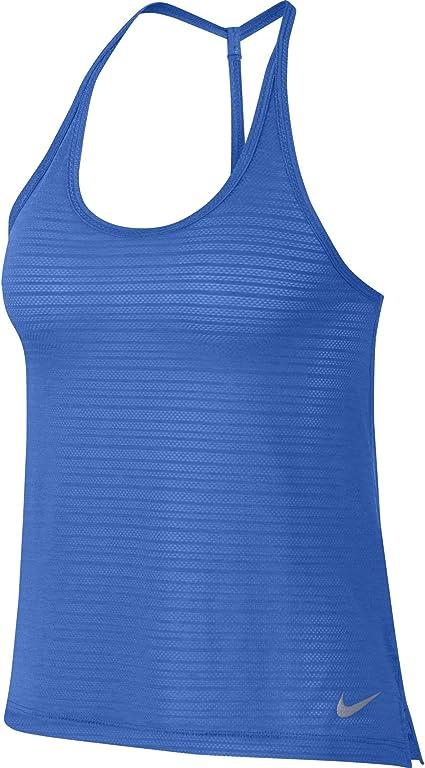 Nike W NK Miler Tank brthe T Shirt débardeur, Femme