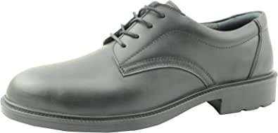 BATA EXECUTIVE SAFETY SHOES WITH LACE, SIZE 43 EU