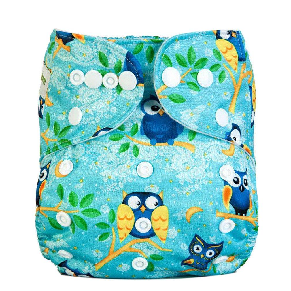 Kauftree 1//4er Baby Jungen M/ädchen Windelhose Babywindeln /Überhose Cloth Diaper Waschbare Verstellbar mit Druckknopf Wasserdicht #1