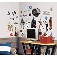 Deals on 31-Pcs RoomMates Star Wars Classic Peel and Stick Wall Decals