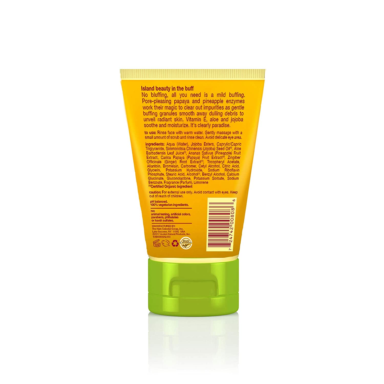 Amazon.com: Alba Botanica Face Scrub, 4 onza: Beauty