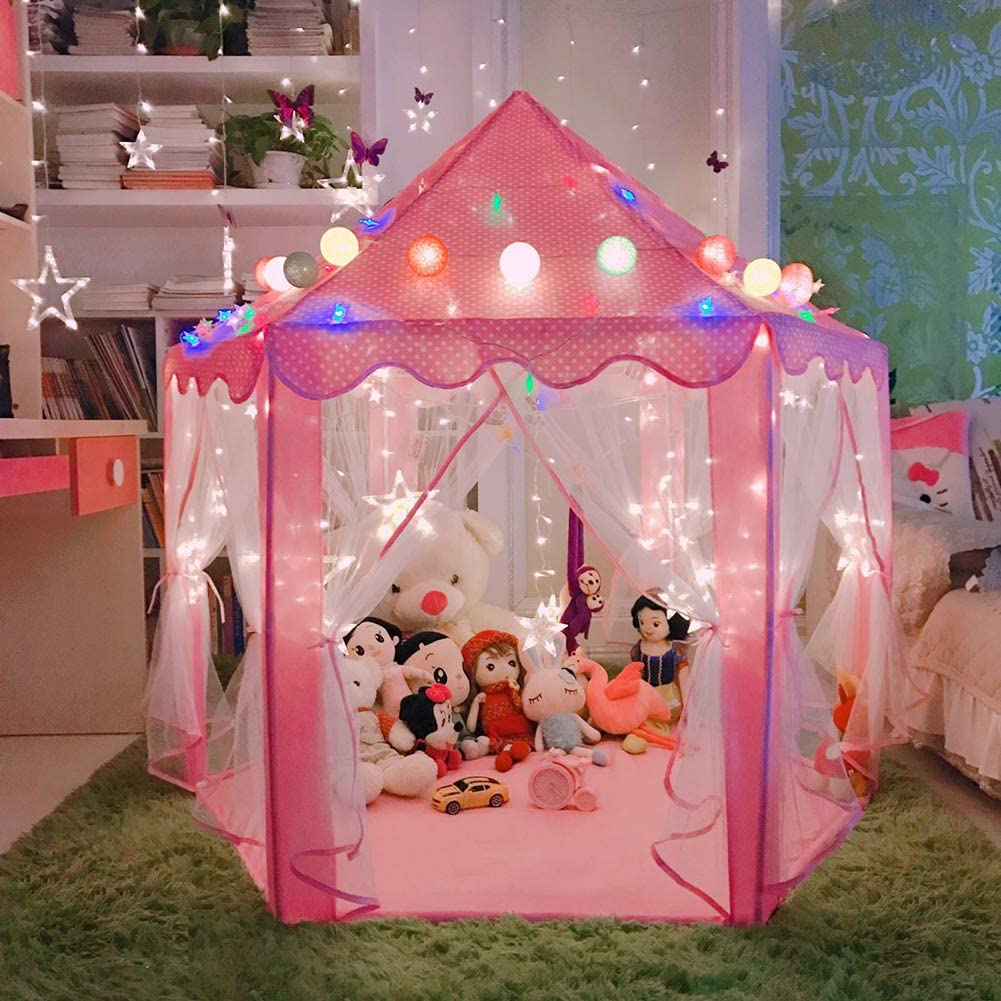 Tenda infantil para meninas nas lojas de brinquedos da Amazon dos EUA