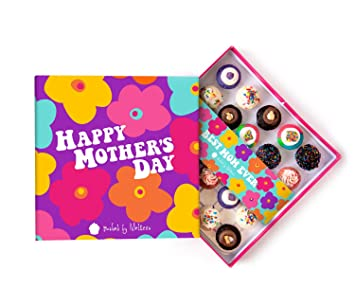 Amazon Com Baked By Melissa Cupcakes Mother S Day Gift Box