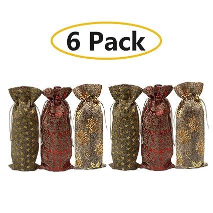 Bolsas de regalo para botellas de vino - Bolsas de vino para ...