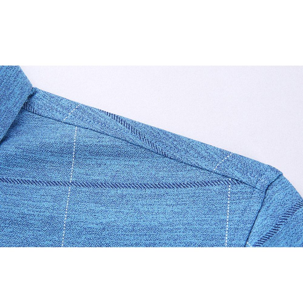nihiug Camisa De Manga Corta De Algodón Algodón para Hombres Camisa De Algodón Algodón para Hombres De Manga Corta Tendencia De La Camisa Delgadas Camisas De Rayas para Hombres 1e7493