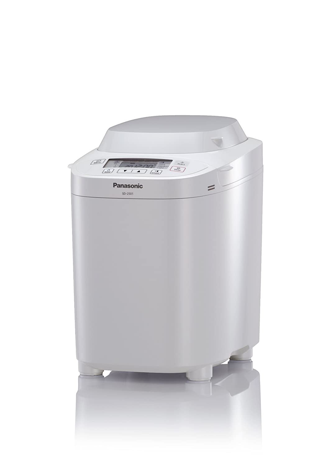 Panasonic SD-2501 WXC Automatic Breadmaker - White