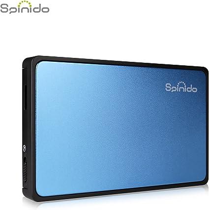 Spinido® caja disco duro 2.5, soporta UASP / SATAⅢ/ USB 3.0 ...