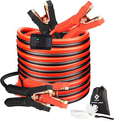 NoOne Heavy-Duty Jumper Cables KJBC001