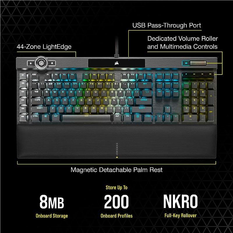Corsair K100 RGB Mechanical Gaming Keyboard 3