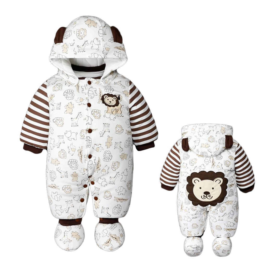 Unisex Baby Christmas Rompers Newborn Snowsuit Jumpsuit Santa Suits Xmas Outfits Vine Trading Co. Ltd B160805PF00270V