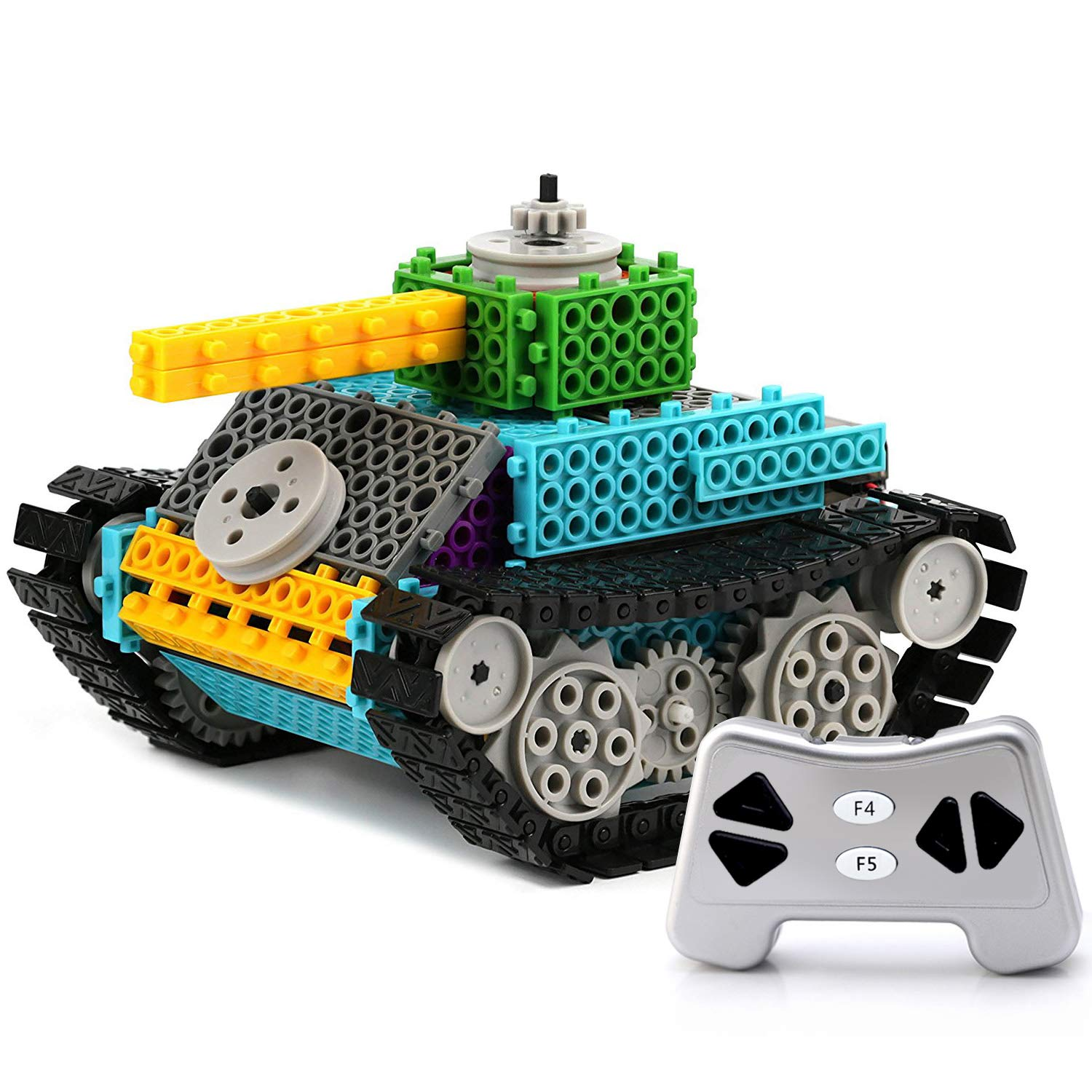 PACKGOUT STEM Toys Gifts for Boy Teen Remote Control Building Kits for Boy Girl Teen Gift 5/6/7 Year Old Boy Gifts Build Own Gift