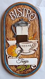 product image for Piazza Pisano Bistro Personalized Kitchen Decor Sign