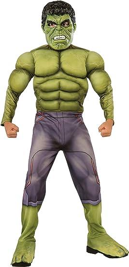 Rubies Rubies - Disfraz para niño, diseño Hulk de Marvel, talla M ...