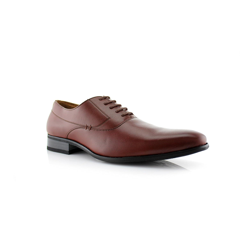 f1624949ab90fe Amazon.com   Delli Aldo Frank M19121 Men's Classic Oxford Lace Up Dress  Shoe   Oxfords
