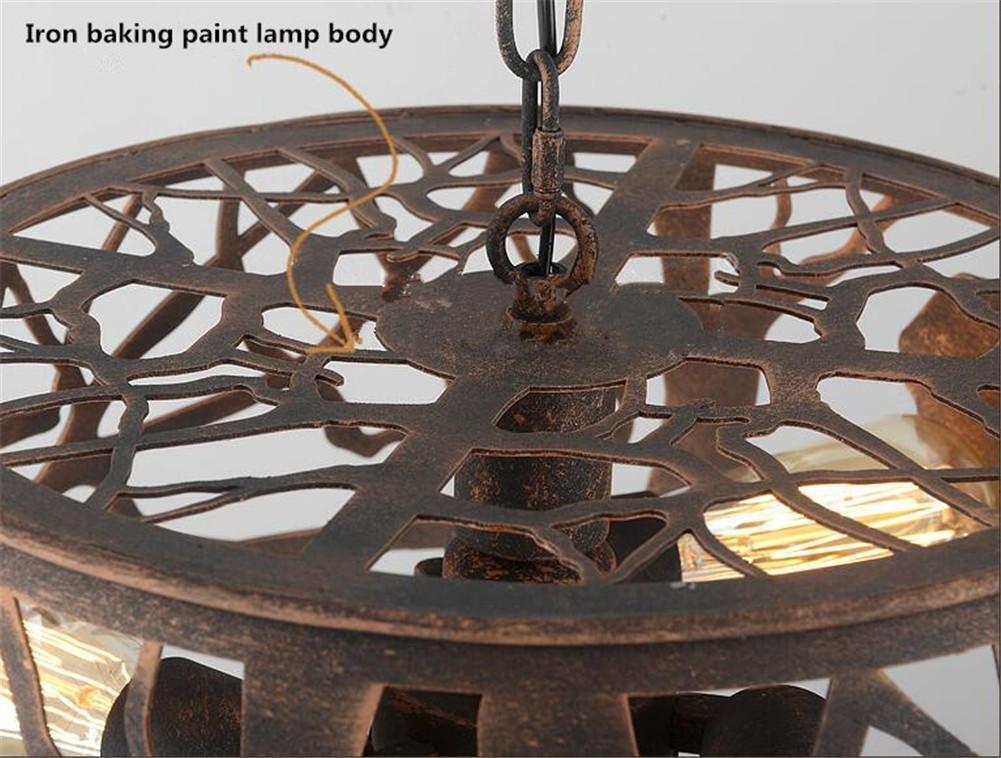 Plafoniere Sospese Per Ufficio : Atmko lampade a sospensione lampadario retro plafoniere del