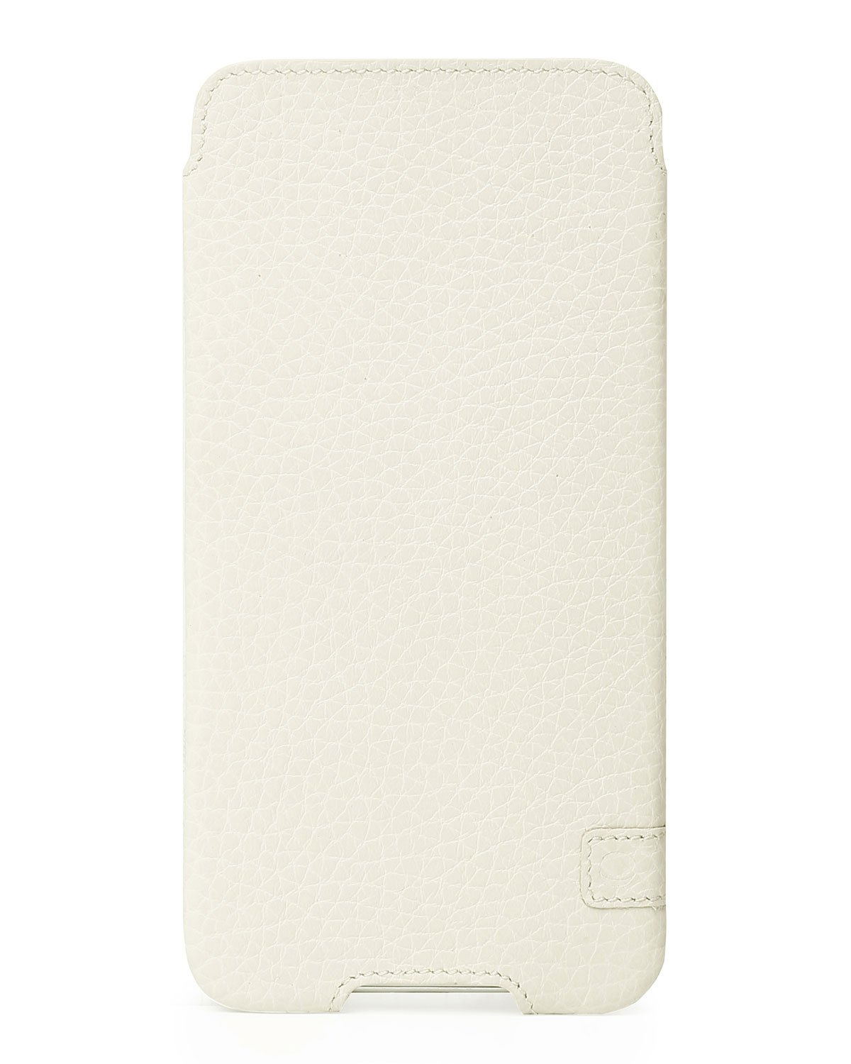 Beyza Cases Zero a Thin Leather Sleeve Pouch Case for iPhone X - Beige