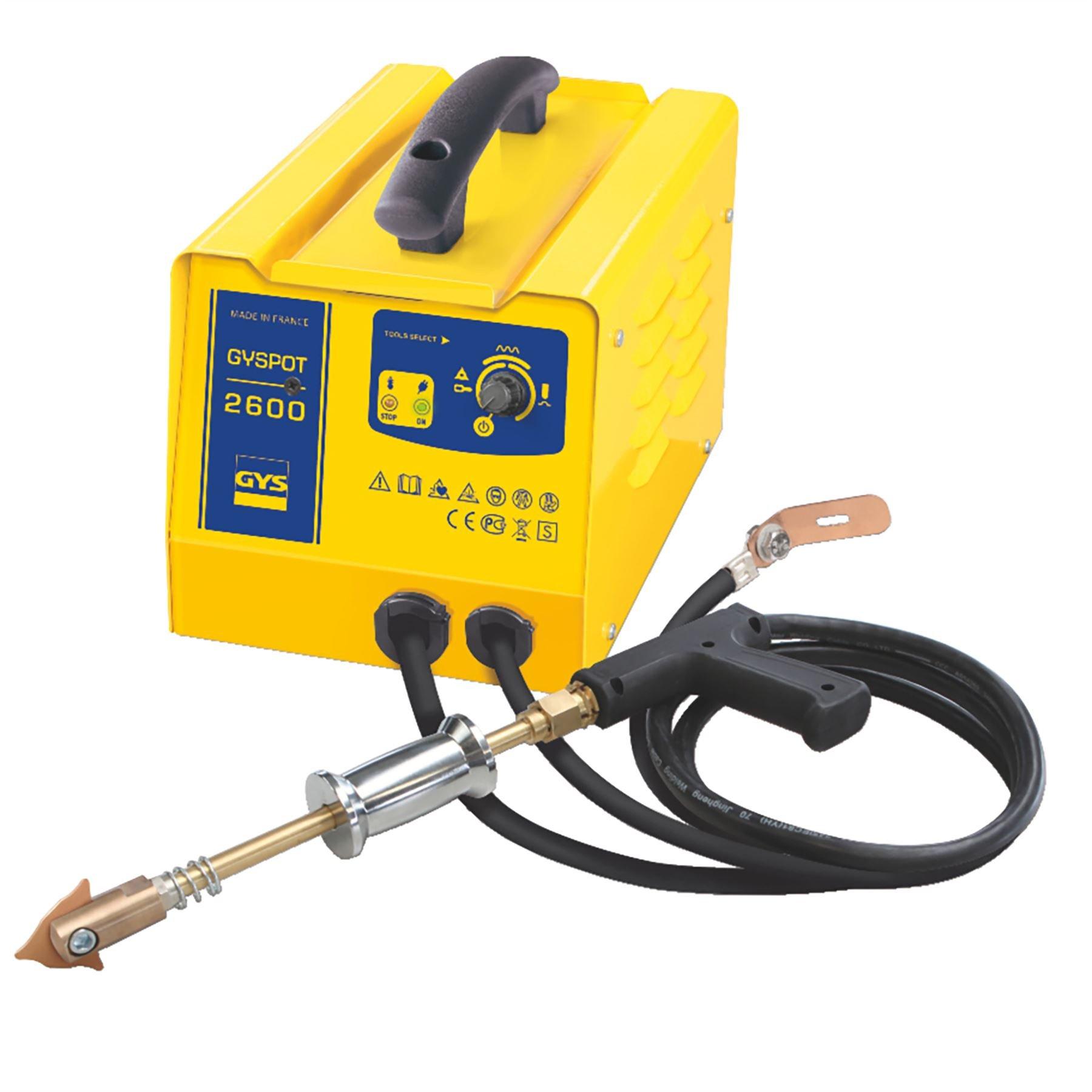 GYS GYSPOT 2600 Vehicle Panel Spot Welding MIG 2,600A 230V Puller Dent Spotter Multispot Bonnet/Door Repair 052208