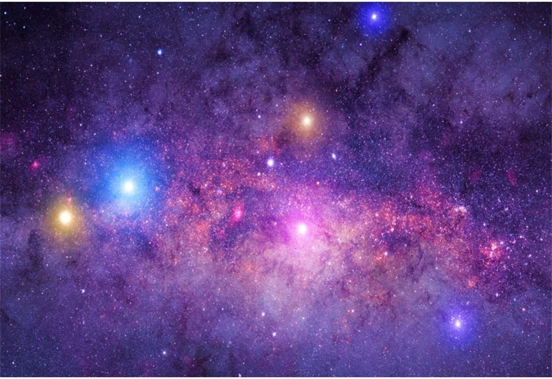 Yeele 400x40ft Photography Background Deep Space Nebula Mystical Astronomy  Celestial Planets Milky Way Cosmic Galaxy Stardust and Bright Shining Stars  ...