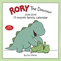 Rory the Dinosaur 2018-2019 17-Month Family Calendar