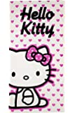 Character World Hello Kitty Hearts Towel