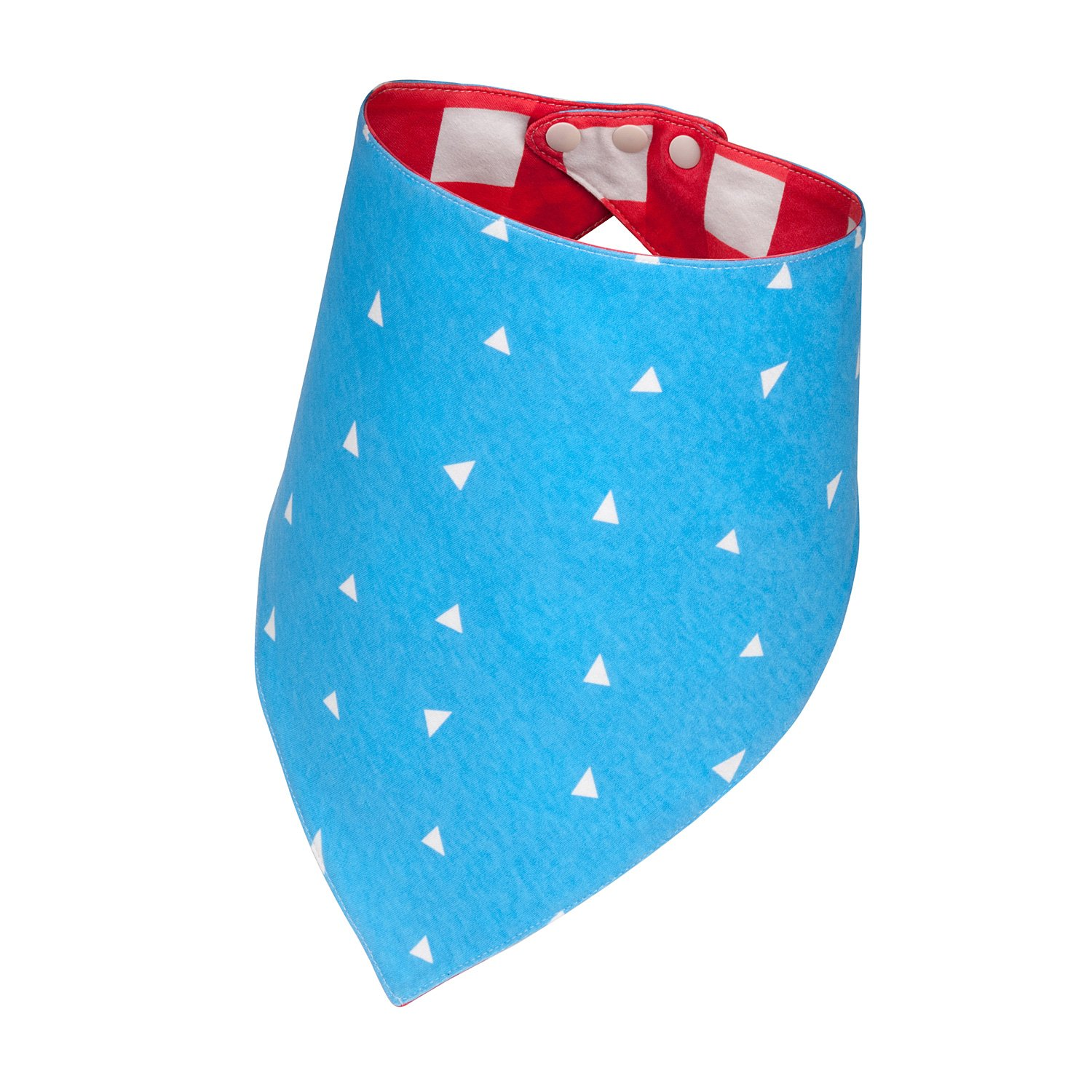 Red White and Blue Bandana | Large/XL Size | Reversible Dog Bandana, Cute Dog Accessories, Delivering Leo Quality - Standout like the King of the Jungle