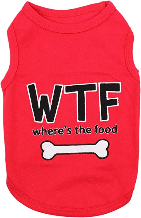 Top 10 Food Dog Shirt