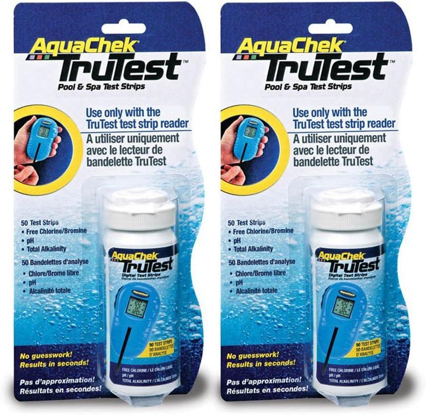 Amazon.com: AquaChek TruTest, tiras para prueba (50 unidades ...