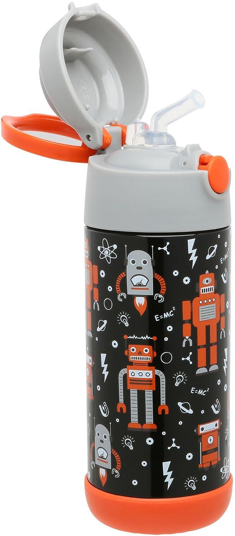 Snug termo para niños - aislado al vacío botella de agua con paja: Amazon.es: Hogar