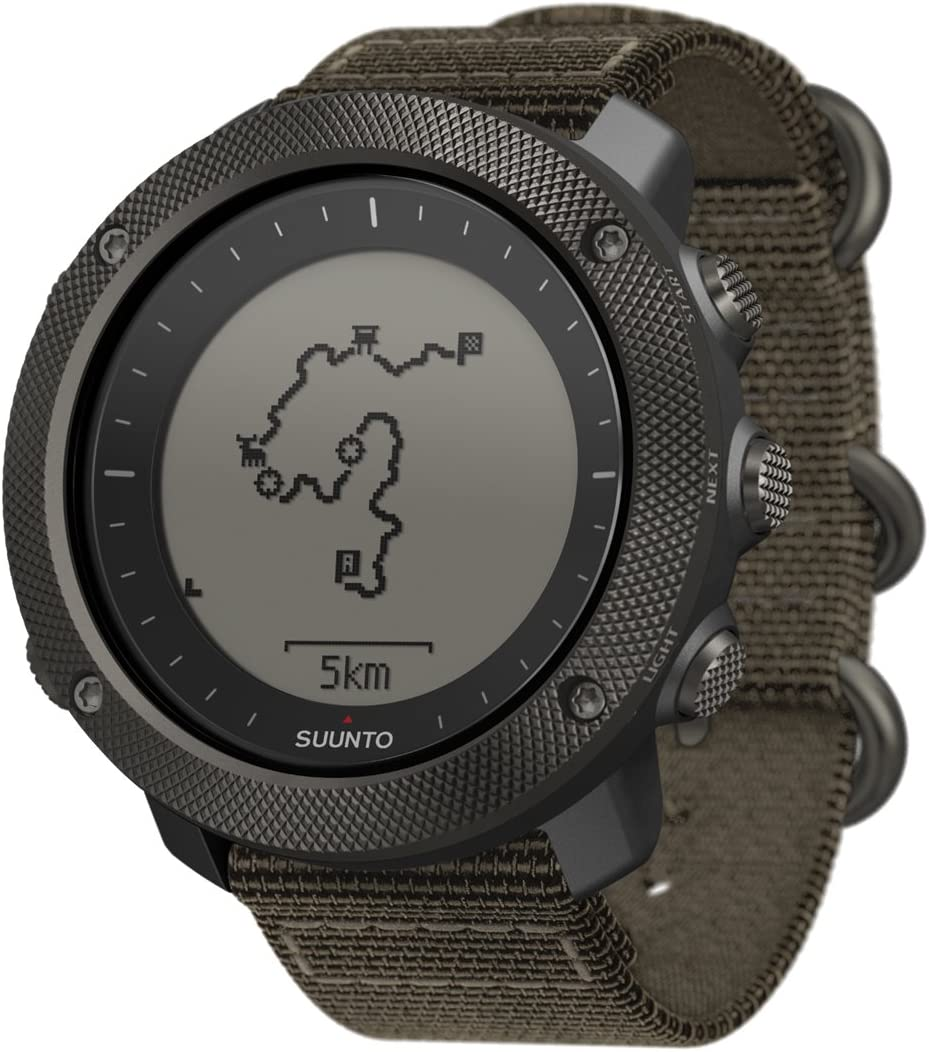 SUUNTO TRAVERSE ALPHA (スント トラバース アルファ) スマートウォッチ GPS 登山 気圧計 [日本正規品] フォリッジ