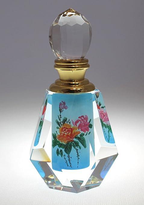 Amazon.com: Azul jardín de rosas Pintura Decorativa de ...