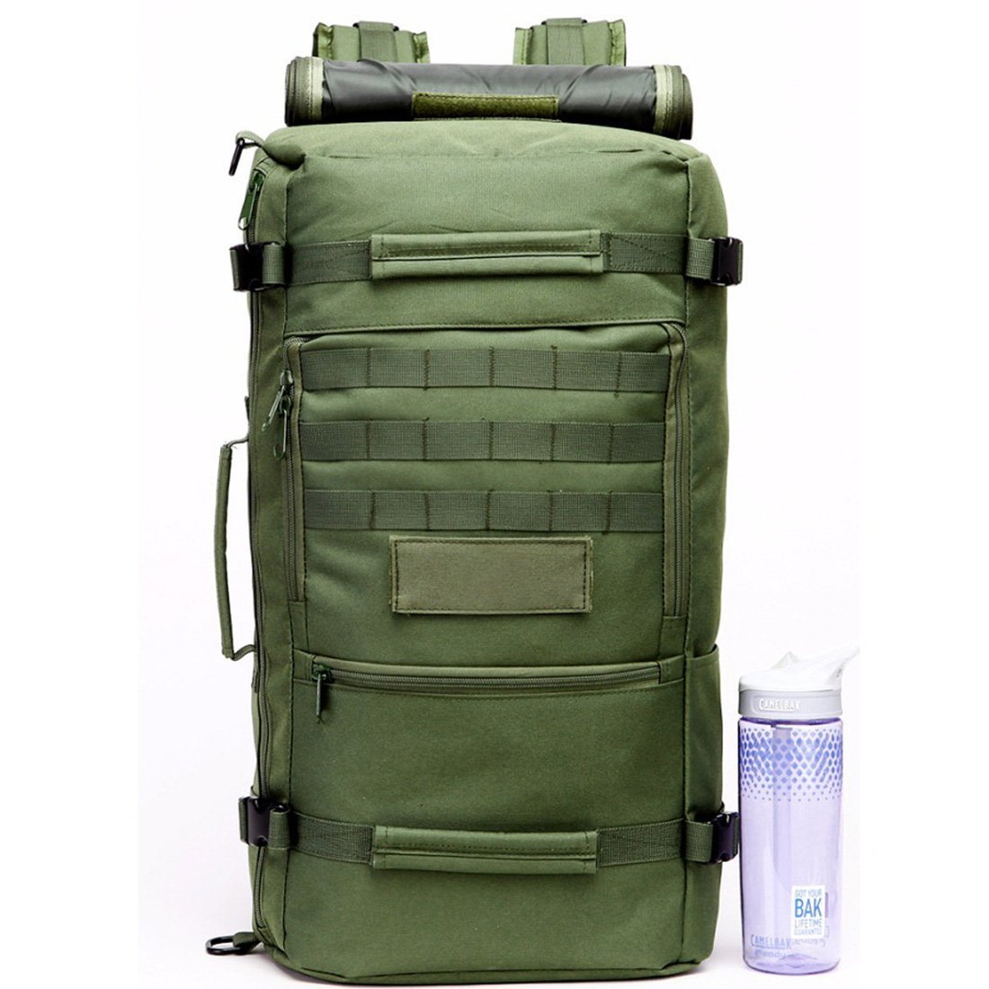 wankerl 50L multifunci/ón 3/en 1/Militar Exterior T/áctica De Camping Mochila De Senderismo Bolso de mano bolsa de hombro mochila