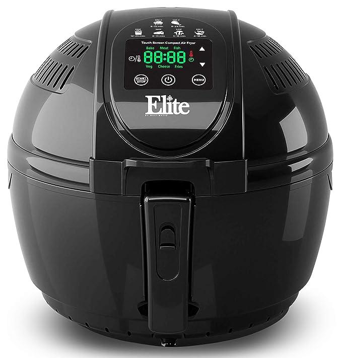 Elite Platinum EAF-1506D Electric Digital Hot Air Fryer Oil-less Cooker