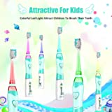 Kids Electric Toothbrush, Soft Battery Tooth